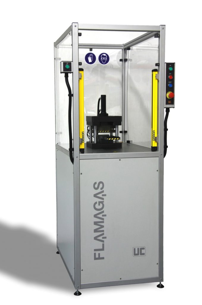Prensa Semiautomática FLAMAGAS UC